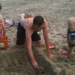 Le château de sable (fondations)