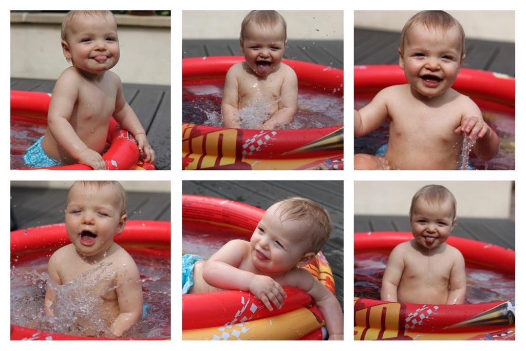 Montage piscine